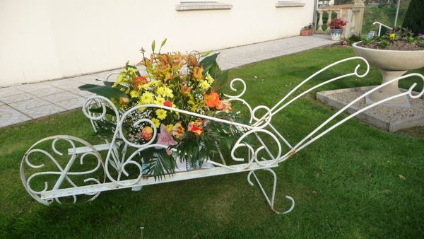 Mamyflo d co jardin for Decoration de jardin en fer forge